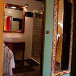 Salle d'eau, douche et meuble vasque