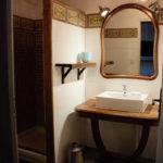 Salle d'eau vasque et douche