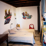 Chambre enfants loft, 2 lits simples