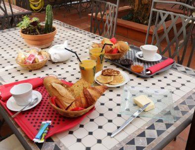 Brunch et petits déjeunés