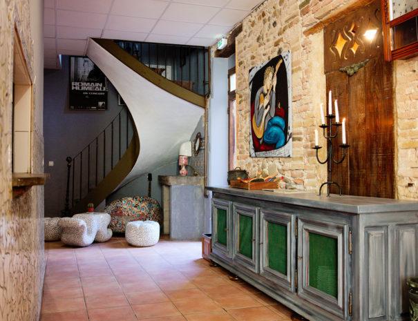 Espaces communs El Castell St Hippolyte